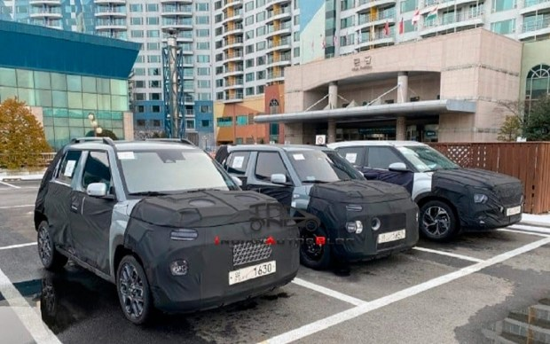 Еще меньше Venue: новые фото самого маленького SUV от Hyundai
