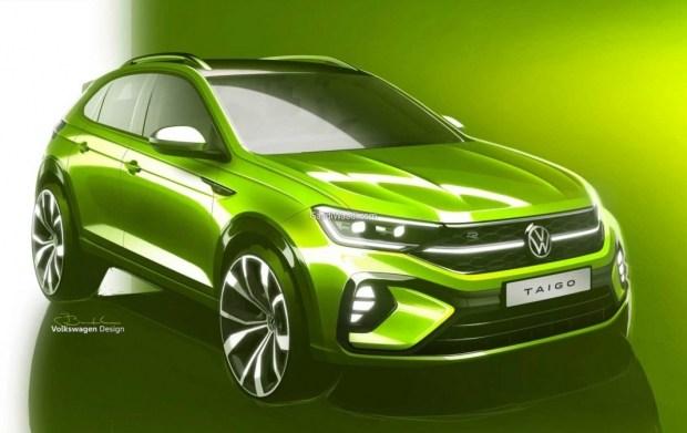 Первые офциальные изображения VW Taigo