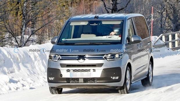 Компания Volkswagen готовит обновлённую модель Multivan