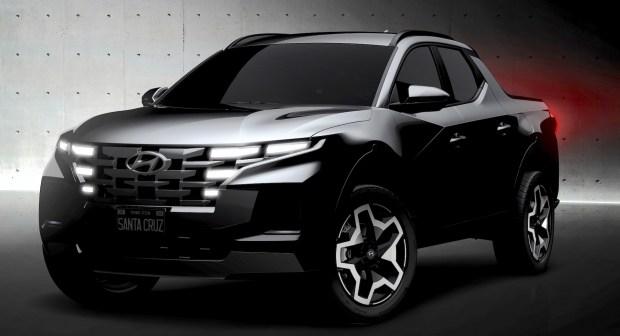 Первые официальные фото пикапа Hyundai Santa Cruz