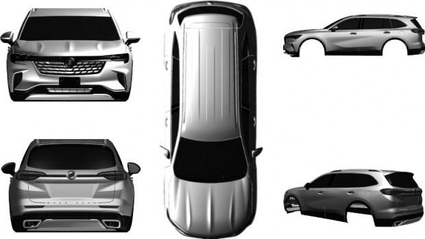 Buick готовит новый трехрядный кроссовер Buick Envision GX