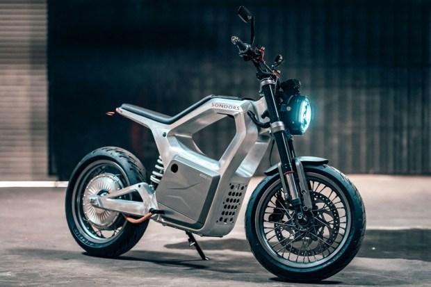 Электроцикл Sondors Metacycle 2022