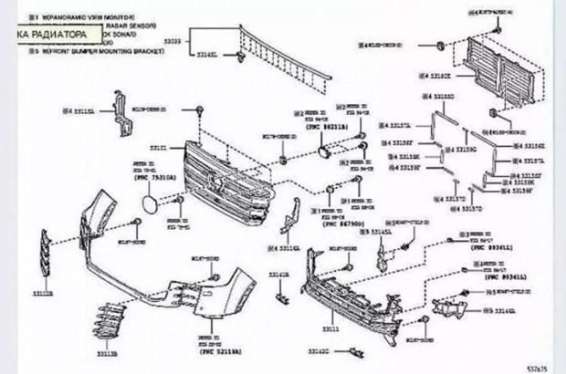 В Сеть «слили» реальные изображения Land Cruiser 300