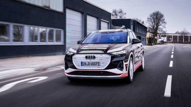 Audi и ее компактные электрокроссы