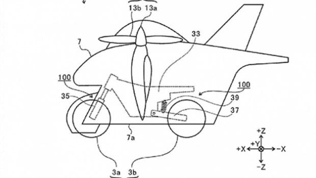 Subaru готовит летающий мотоцикл!?