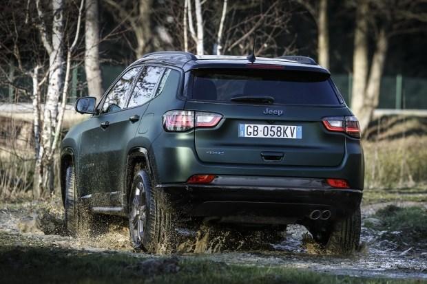 Обновленный Jeep Compass уже в Европе!