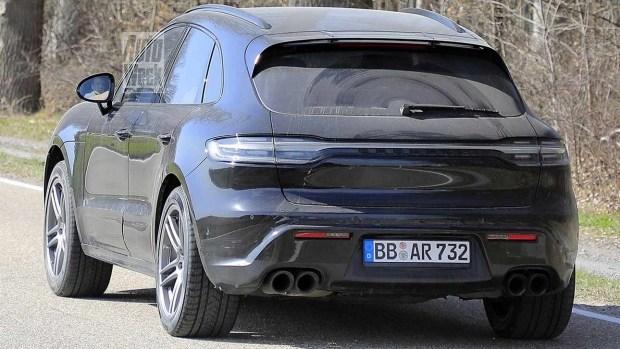 Macan «долгожитель»: Porsche обновит кроссовер еще раз