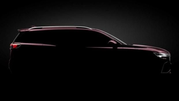 Трехрядный внедорожник Buick Envision Plus рассекретили перед глобальным дебютом