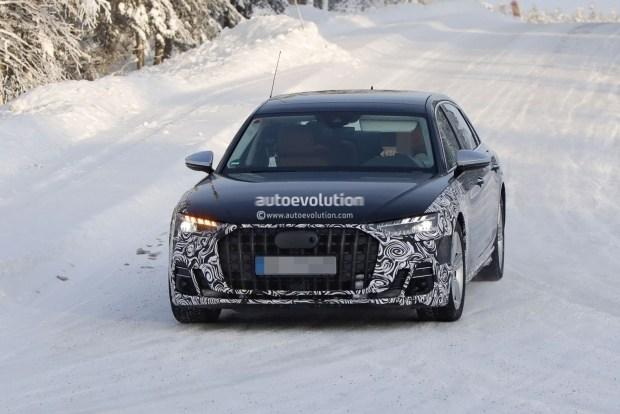 Audi вывела на тесты конкурента Mercedes-Maybach