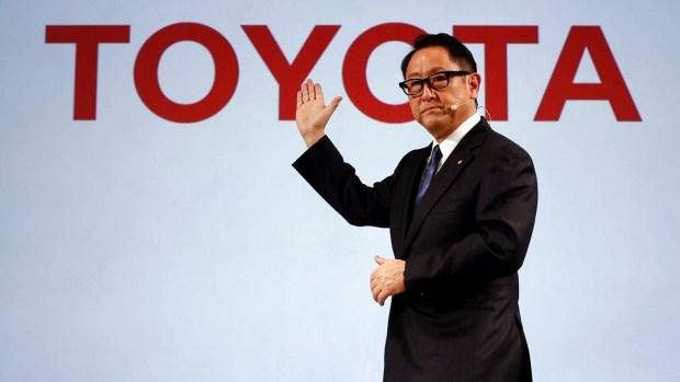 Глава Toyota стал самым «человечным» в автомобильной индустрии