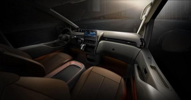 Раскрыты все версии футуристичного минивэна Hyundai Staria