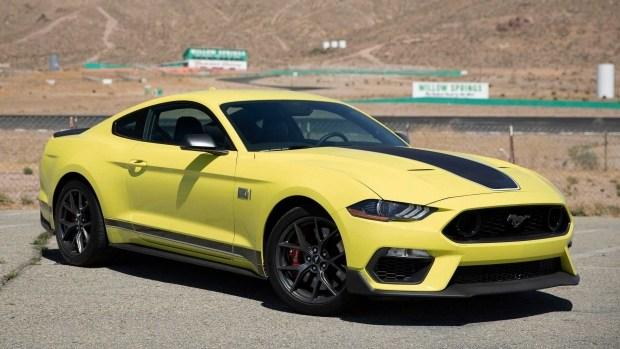 Самый, самый: очередная победа Ford Mustang