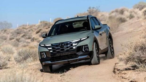 Новый пикап Hyundai полностью раскрыли
