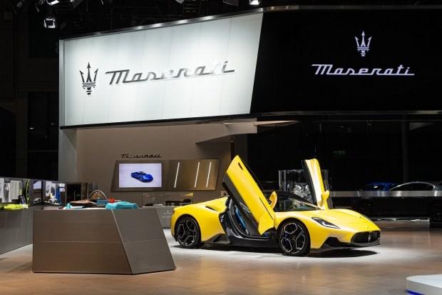 Maserati на Шанхайському автосалоні 2021