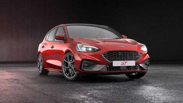Ford Focus ST-3 с дополнительными опциями