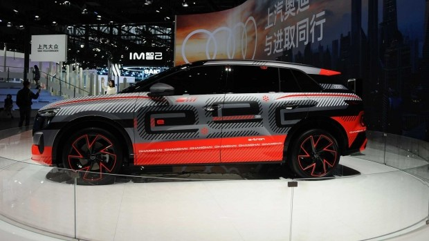 Audi представила еще один электромобиль