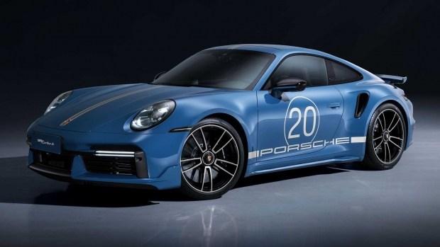 Компания Porsche отмечает 20-летие в Китае выпуском 911 Turbo S Anniversary Edition