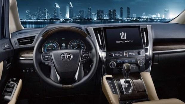 Toyota представила ещё одну вариацию Crown