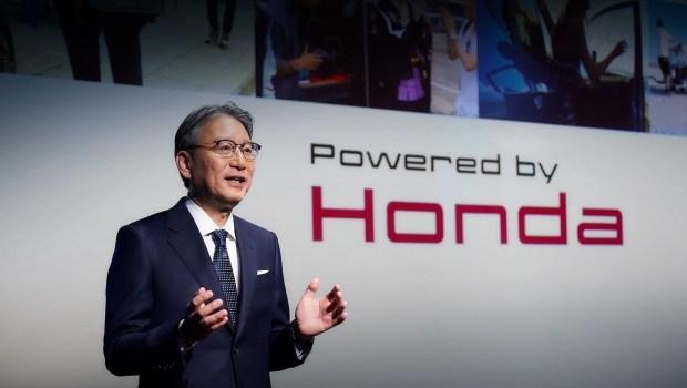 Honda 2040: только электро