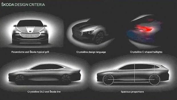 Новая Skoda Superb покажет более современную философию дизайна