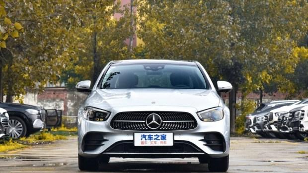 Компания Mercedes-Benz выпустила E-Class с расходом топлива 1,4 литра