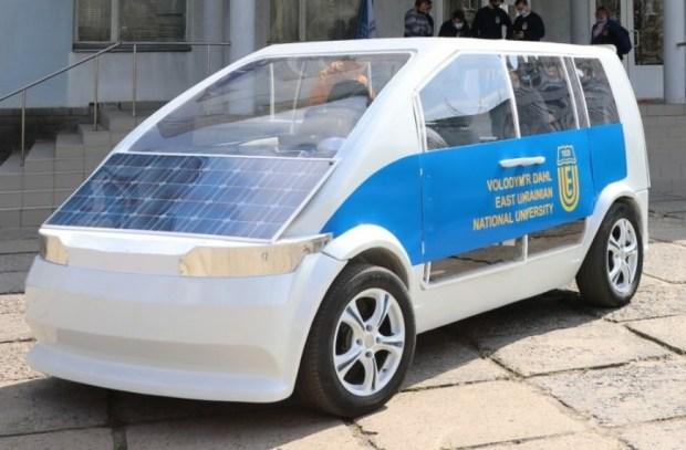 В Украине создали макет первого электромобиля (Фото)