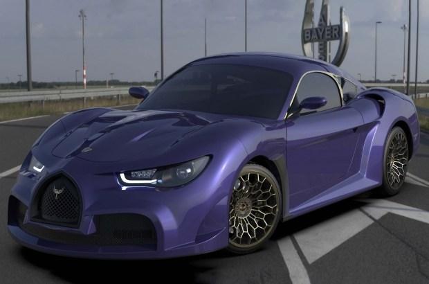 Bugatti, ты ли это? Представлен первый электромобиль из Ливана