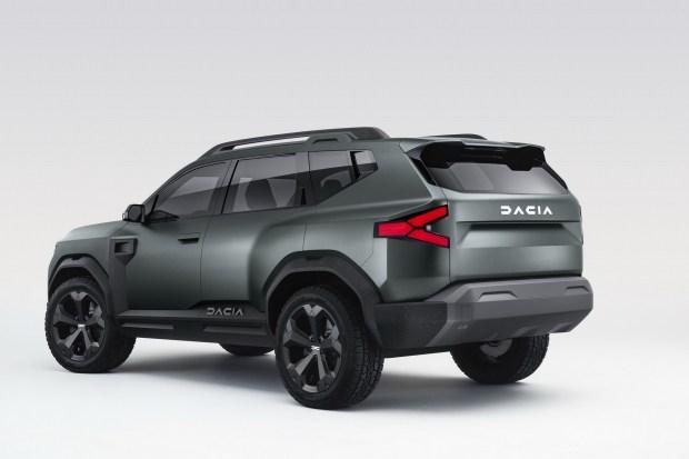 Внедорожник Dacia Bigster перезагрузит бренд