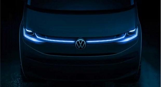 VW продемонстрировал приборную панель нового Multivan