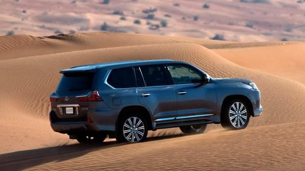 Новый Lexus LX: когда ждать премьеру?