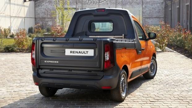 Новый пикап Renault Express