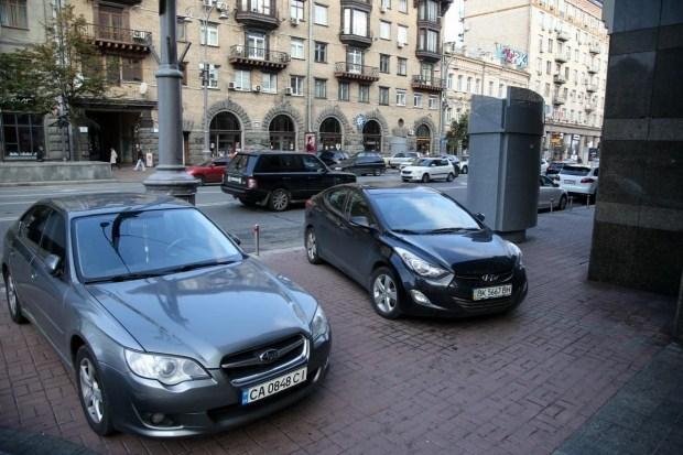 Киевских водителей начнут быстрее штрафовать за парковку