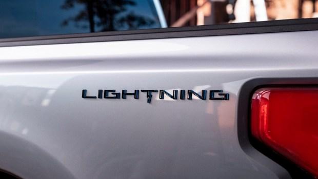 Электрический пикап Ford F-150