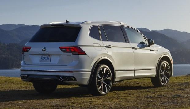 VW представил обновлённый Tiguan Allspace
