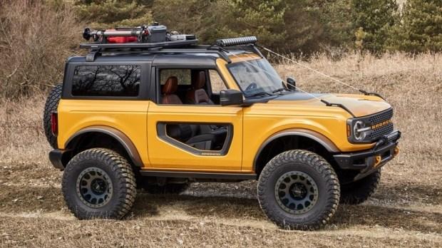 Ford превратит Bronco в электричку?