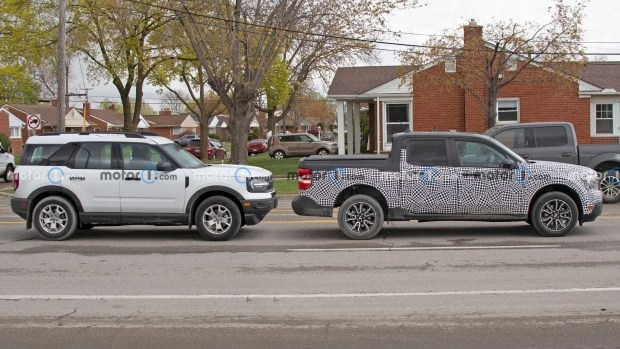 Реальные размеры Ford Maverick