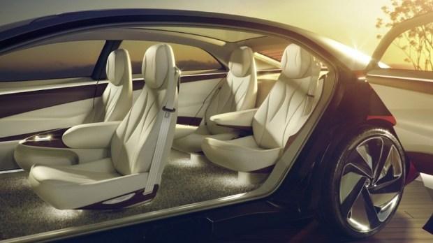 На фото: салон концепта Volkswagen ID. Vizzion