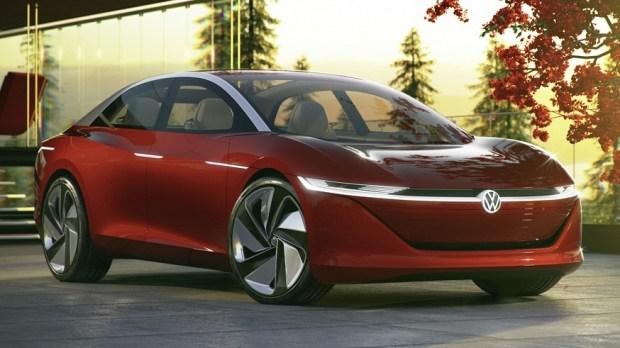 На фото: концепт Volkswagen ID. Vizzion