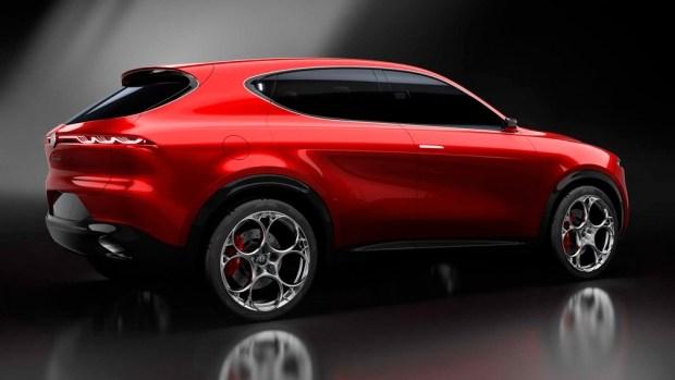 Концепт Alfa Romeo Tonale