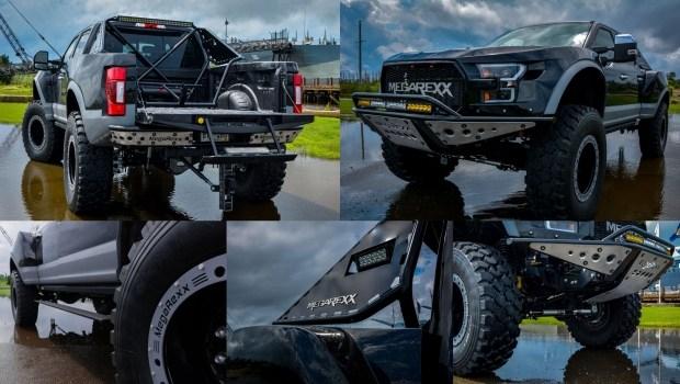 «Хищник» подрос: тяжелый пикап от Ford превратили в MegaRaptor
