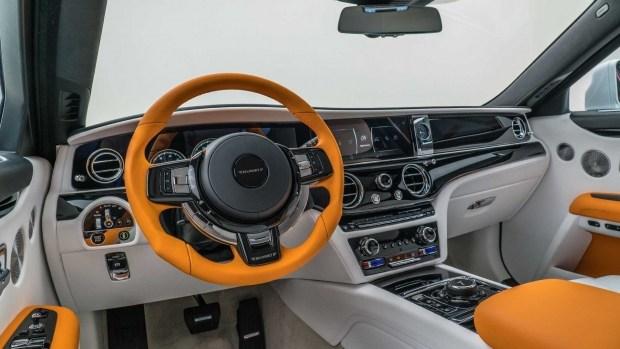 «Дух экстаза» в шоке: Mansory представила тюнинг-пакет для Rolls-Royce Ghost