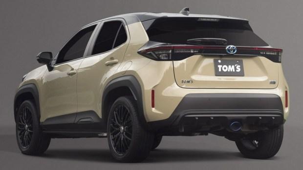 Для Toyota Yaris Cross выпущен новый обвес от TOMS