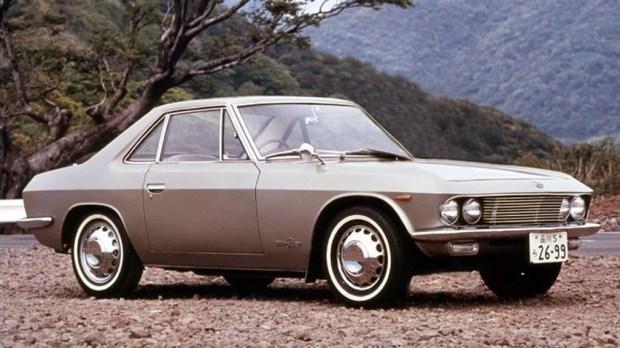 Оригинальная Nissan Silvia CSP311 образца 1965 года