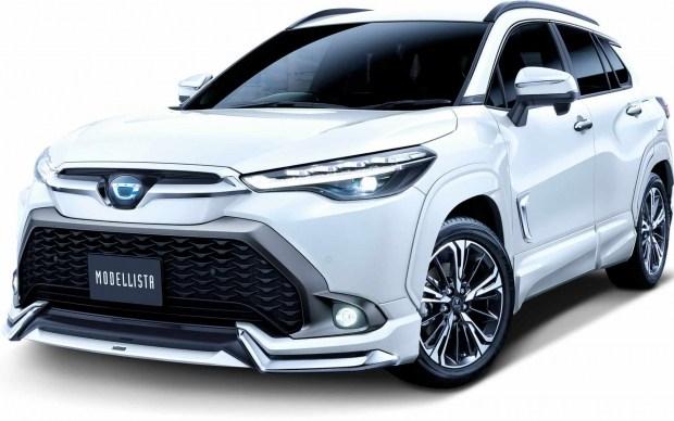 Toyota Corolla Cross: первый тюнинг