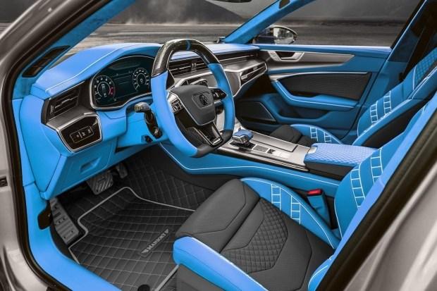 Ателье Mansory представило свою версию Audi RS 7
