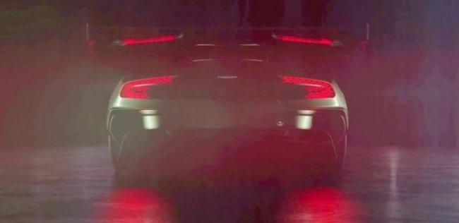 Aston Martin привезет в Женеву трековый спорткар Vulkan