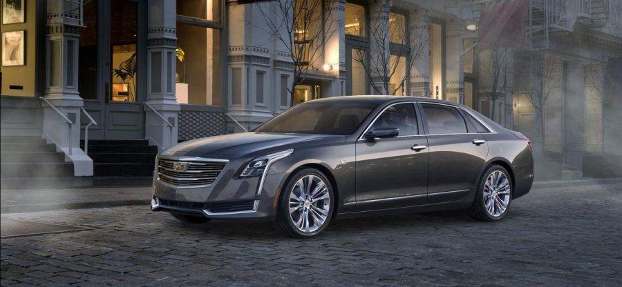 Первый экземпляр нового флагмана Cadillac уйдет с молотка 74