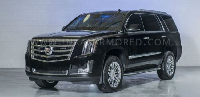 Канадцы превратили Cadillac Escalade в броневик