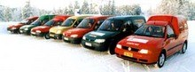 Арктика. Семь фургонов. - 42 градуса C. (Citroen Berlingo) - фото 1