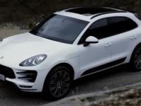 Экстерьер Porsche Macan Turbo